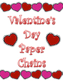Valentine's Day Paper Chains