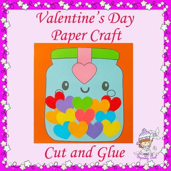 Valentine's Day Paper Craft