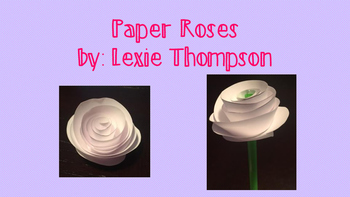 Valentine's Day Paper Roses!