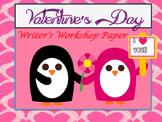 Valentine's Day Paper for Writer's Workshop