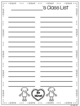 Valentine's Day Parent Letter FREEBIE {Valentine Exchange and Class List}