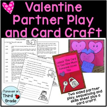 Valentine's Day Partner Play and Card Craft