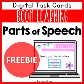 Valentine's Day Parts of Speech Free Boom Cards