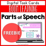 Parts of Speech Free Boom Cards   Distance Learning