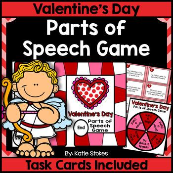 Valentine's Day Parts of Speech Game