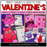 Valentine's Day Party Games | Valentine's Day Party Crafts & Activities