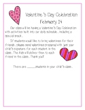 Valentine's Day Party Note