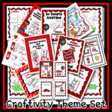 Valentine's Day Party - Reader & Craftivity Theme Unit - 2