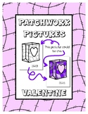 Valentine's Day - Patchwork Pictures - 15 Picture with Wor