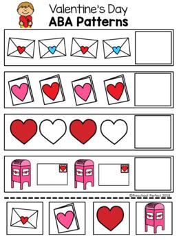 Valentine's Day Freebie Pattern Cards