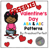 Valentine's Day Freebie Pattern Cards