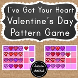 Valentine's Day Pattern Game