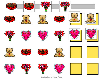 Valentine's Day Pattern Mats