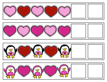 Valentine's Day Patterning Strips