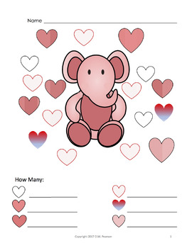 Valentine's Day Patterns! Count the Heart Patterns