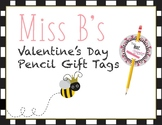 Valentine's Day Pencil Tags