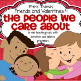 Valentine's Day People We Care About Centers & Activities for Preschool and PreK