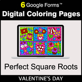 Valentine's Day: Perfect Square Roots - Google Forms | Dig