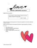 Valentine's Day Expository Prompts