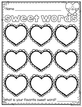 Valentine's Day Phonics Flashcards