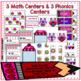 Valentine's Day Phonics & Math Centers for K-1