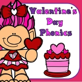 Valentine's Day Phonics Print and Go