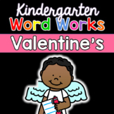 Valentine's Day Phonological Awareness Activity: Word Work