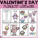 Valentine's Day Phonology Homework