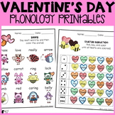Valentine's Day Phonology Printables