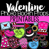 Valentine's Day Photo Booth Props {Made by Creative Clips Clipart}