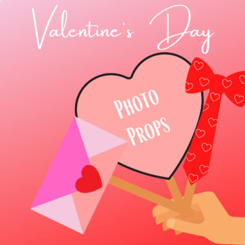 Valentine's Day Photo Props