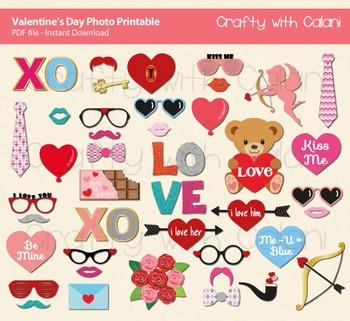 Valentine's Day Photo Props, Love Theme Photo Props, Valentine's Day Decoration