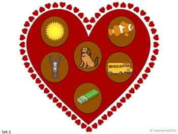 Valentine's Day Letter & Picture Match