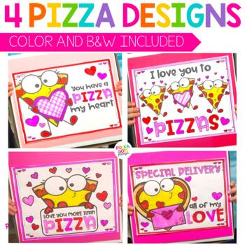 Valentines Day Activity | Pizza Box
