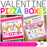 Valentines Day Activity | Pizza Box