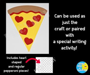 Valentine's Day Pizza Craft