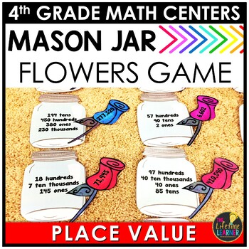Valentine's Day Place Value Game