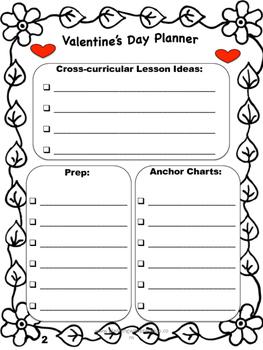 Valentine's Day Planner Freebie