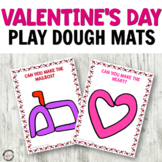 Valentine's Day Play Dough Mats for Fine Motor Centers