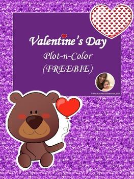Valentine's Day Plot-n-Color {FREEBIE}