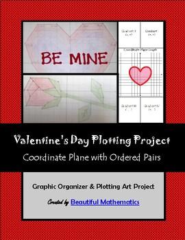 Valentine's Day Plotting Coordinates Art Project