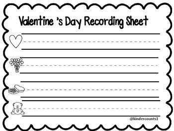 Valentine's Day- Pocket Chart Center