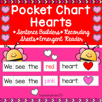 Pocket Chart Sentences for February