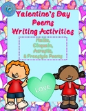 Valentine's Day Poems Writing Activities