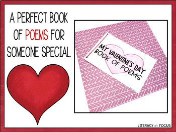 Valentine's Day Poetry Booklet (Haiku, Acrostic, and Bio Poems!)