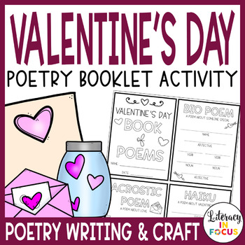 Valentine's Day Poetry Book