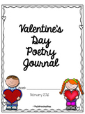 Valentine's Day Poetry Journal