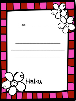 Valentine's Day Poetry Kit FREEBIE!!