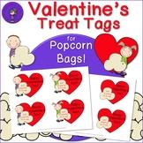 Valentine's Day Popcorn Treat Tags