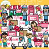 Valentine's Day Post Office Clip Art